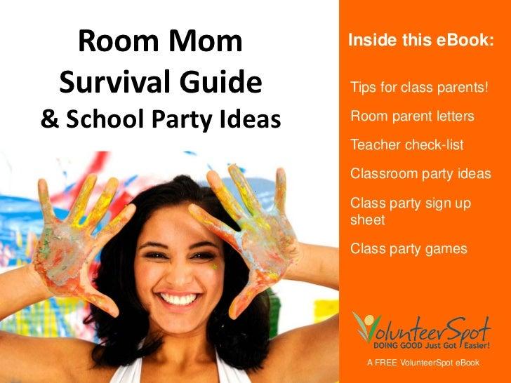 Room Mom Survival Guide & School Party Ideas