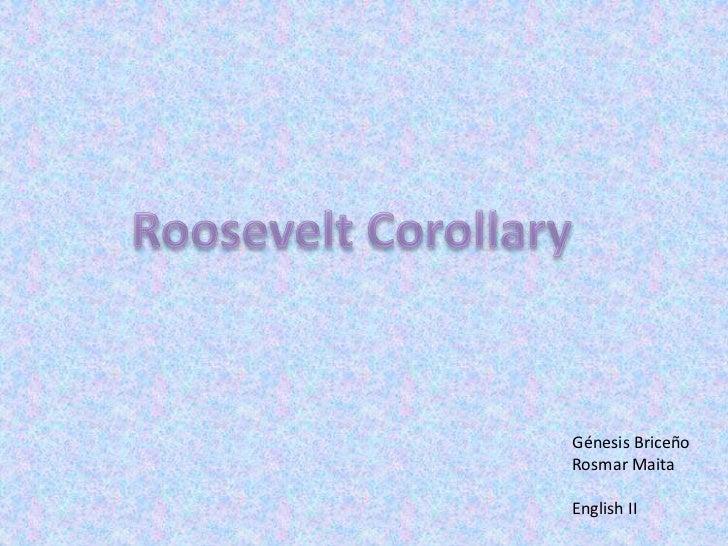 PPT - Roosevelt Corollary - IIA2