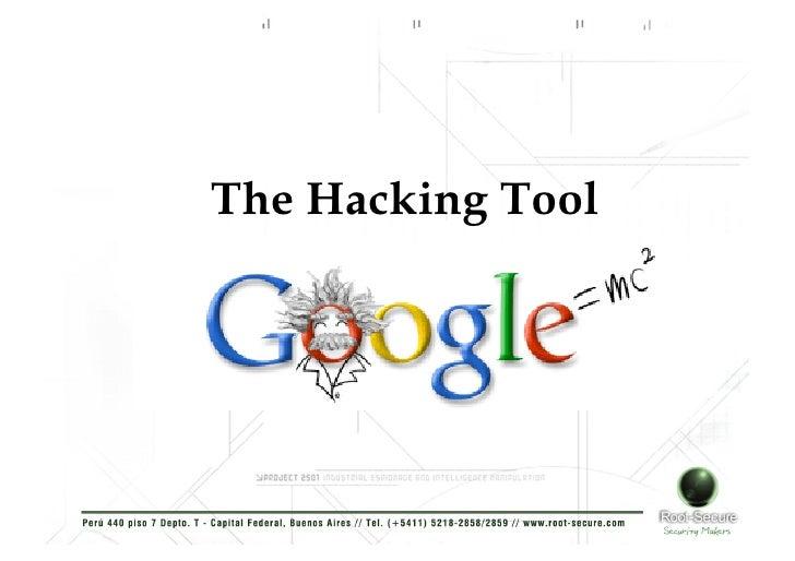 Root Secure Google Hacking Tool Taller