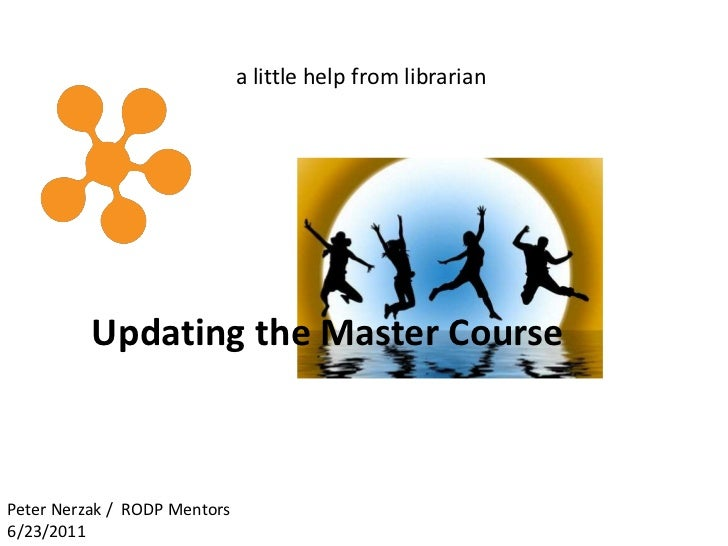 Ropd master course