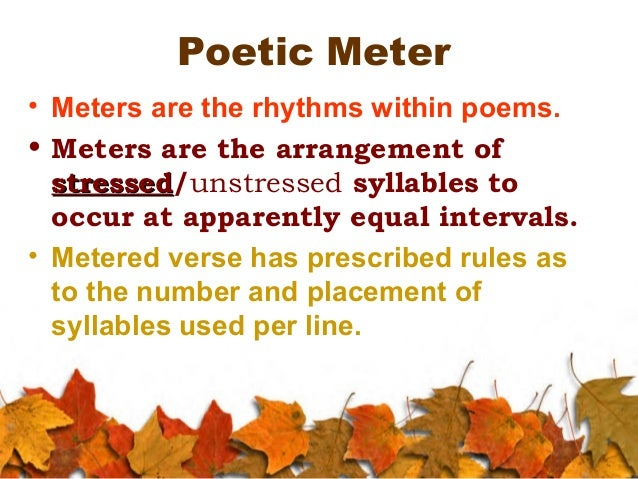 terms used in poetry Having counted the occurrence of words in nearly 3,000 poems published in poetry magazine to create a parameterised random word generator, i am making some other.