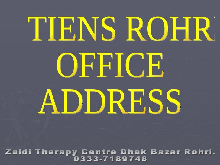 Zaidi Therapy Centre Rohri
