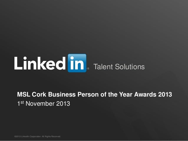 Rory cawley   cork business person of the year awards 1st nov 2013
