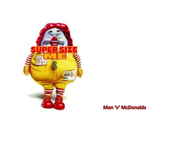 super size me analysis The super size me community note includes chapter-by-chapter summary and analysis, character list, theme list, historical context, author biography and quizzes written by community members like you.