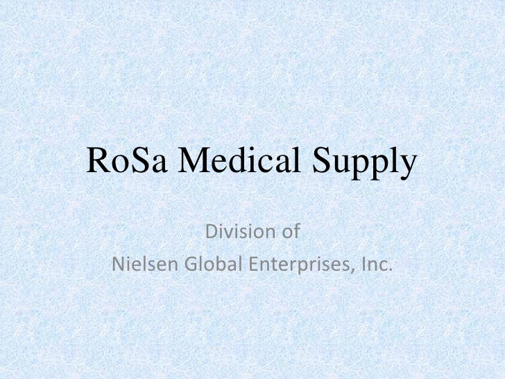 RoSa Medical Supply - Medical Equipment - Senior Care - Home Care