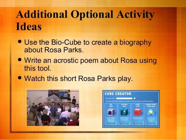 short presentation of rosa sparks and