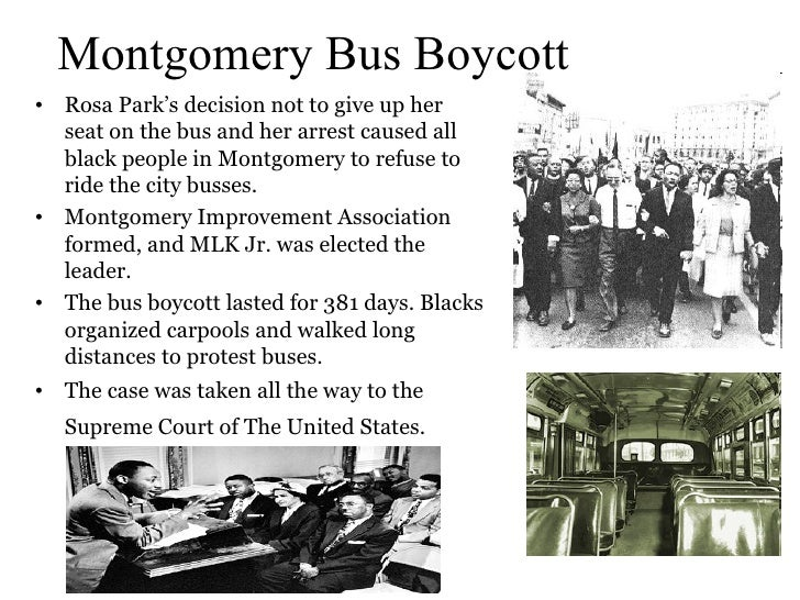 montgomery bus boycott essays Essay about rosa parks and the montgomery bus boycott essay about rosa parks and the montgomery bus boycott rosa parks and the civil rights movement essays.