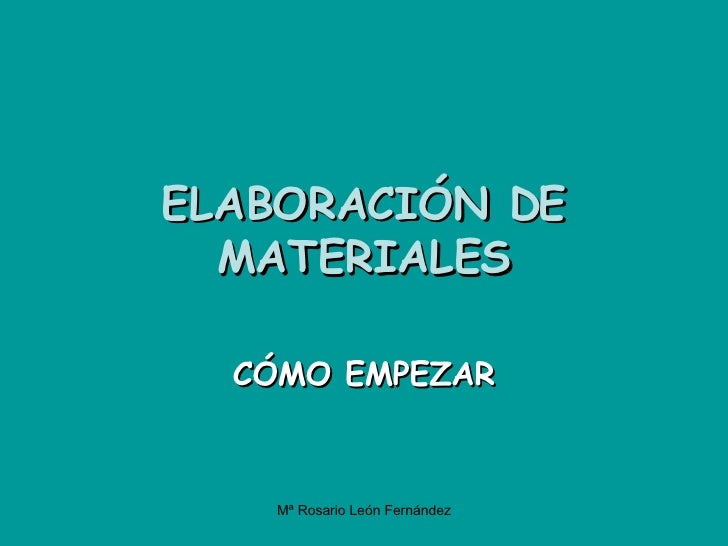 Rosario León Fernández.Implementación Proyecto Bilingüe Ed. Infantil y Primaria