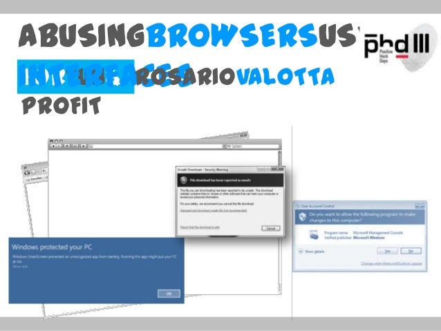 Rosario Valotta. Abusing Browser User Interfaces for Fun and Profit.