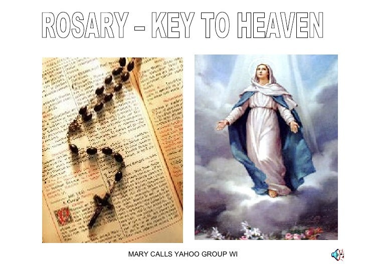 ROSARY – KEY TO HEAVEN