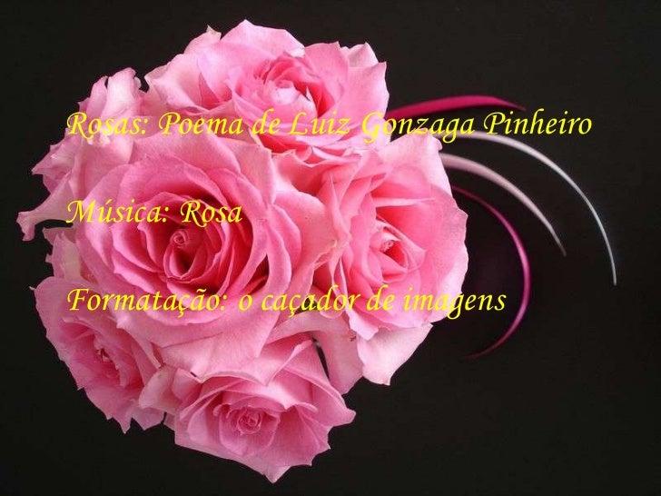 Rosas: Poema de Luiz Gonzaga PinheiroMúsica: RosaFormatação: o caçador de imagens