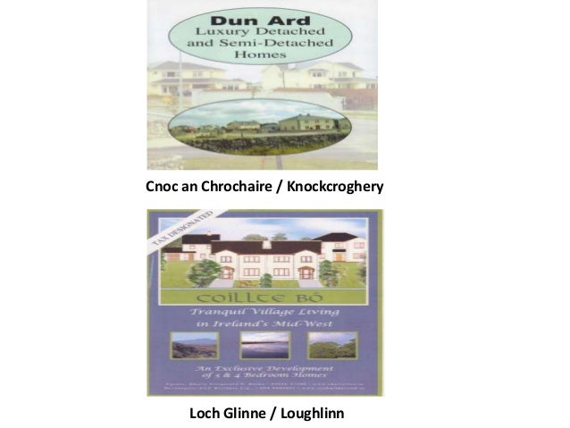 Cnoc an Chrochaire / Knockcroghery Loch Glinne / Loughlinn