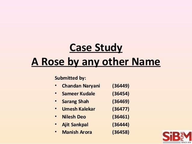 Any case study