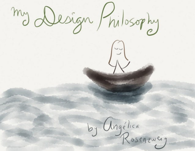 Personal Design Philosophy