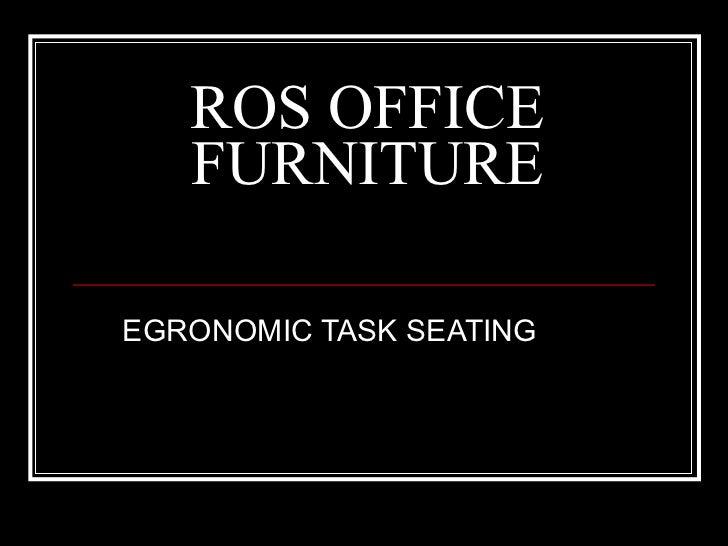Ros Ergonomic Task Chair Catalog