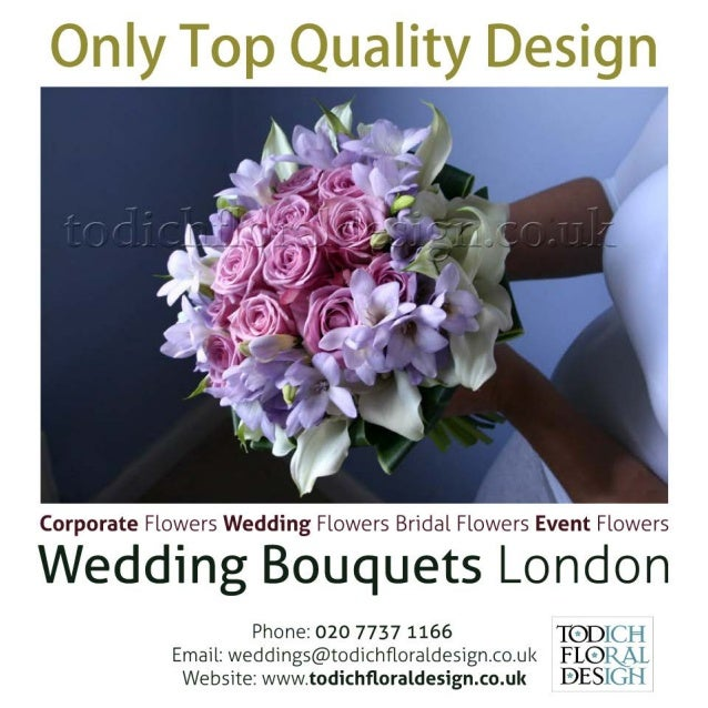 Rose Wedding Bouquets for London Weddings
