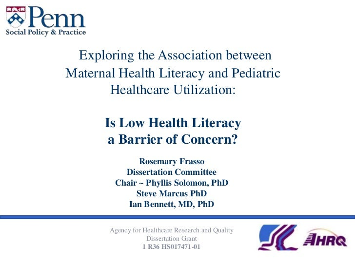 Exploring the Association between Maternal Health Literacy and Pediatric Healthcare Utilization