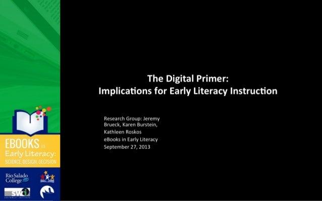 The Digital Primer