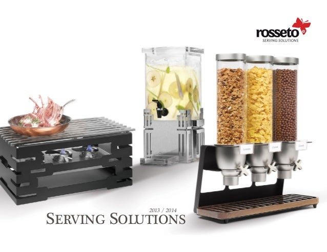 Rosseto serving solutions catalog