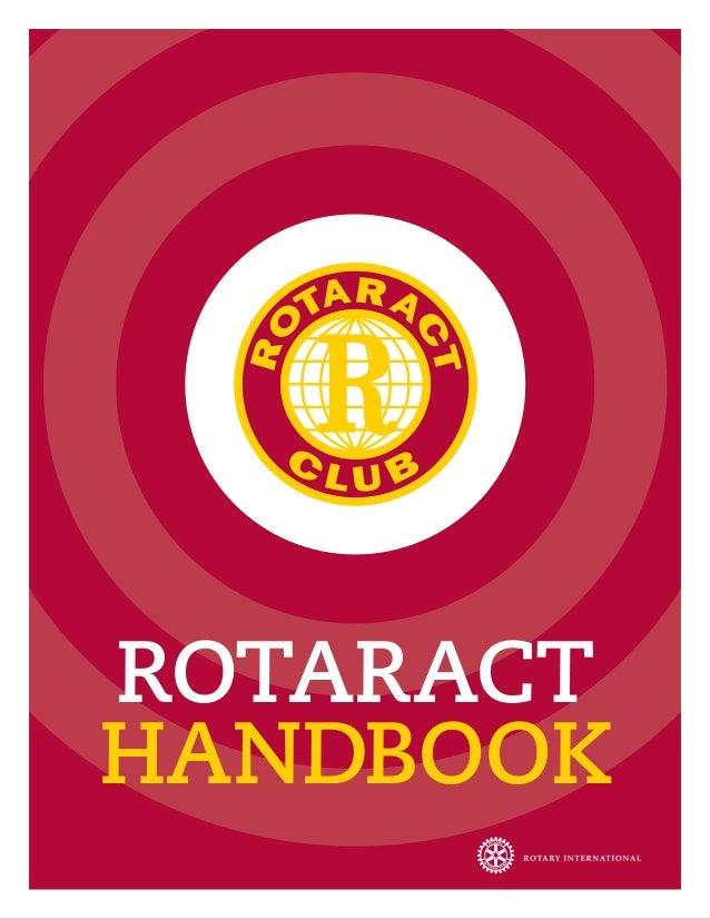 Rotaract handbook new
