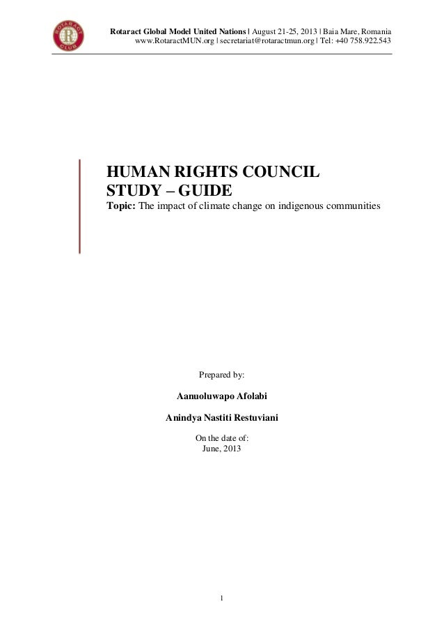 Rotaract mun human rights council   studyguide