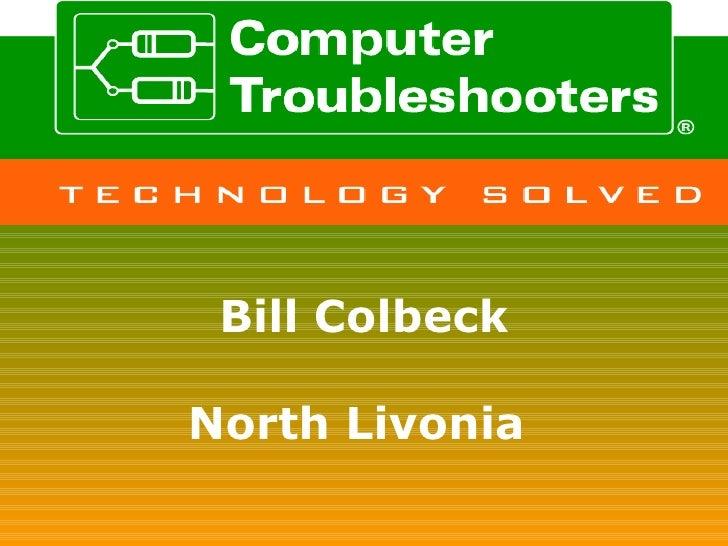 Bill Colbeck North Livonia