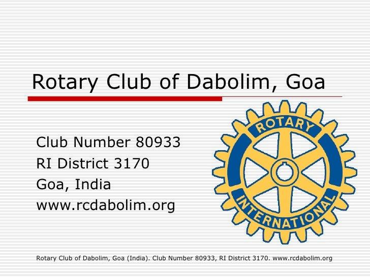 Rotary Dabolim Goa India Education Project Toilet Blocks 30 March2010