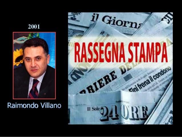 Raimondo Villano 2001