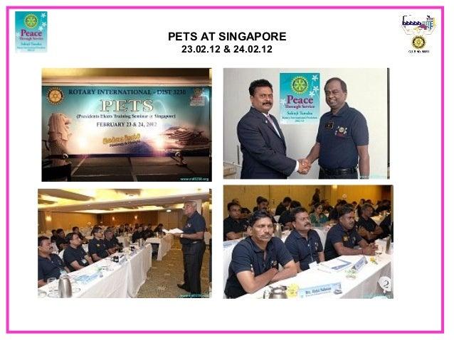 PETS AT SINGAPORE23.02.12 & 24.02.12