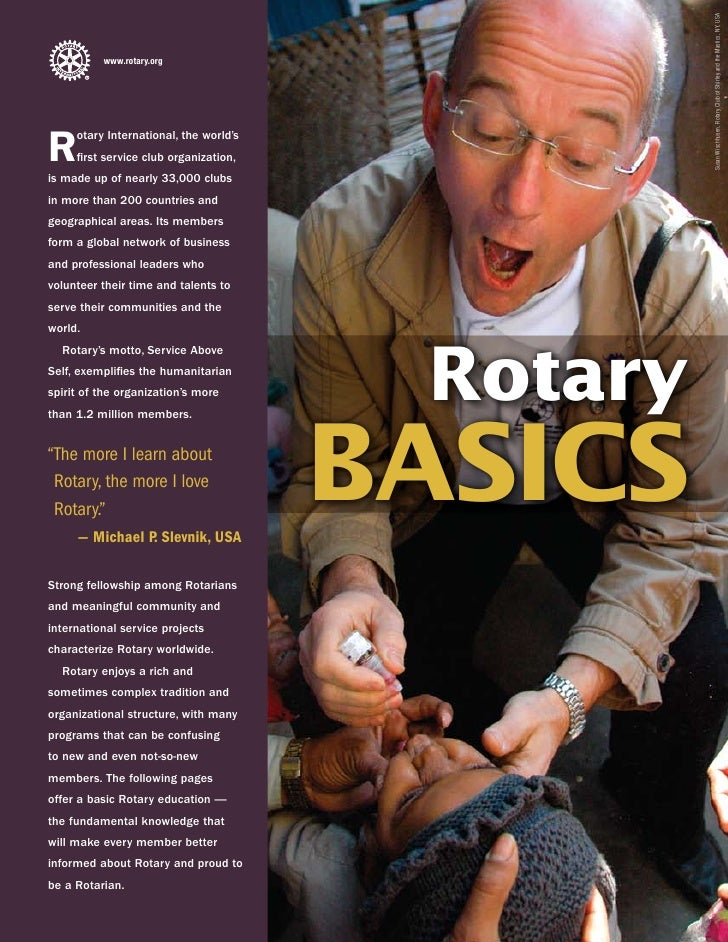 Susan Wischhusen, Rotary Club of Shirley and the Mastics, NY, USA           www.rotary.org     R    otary International, t...