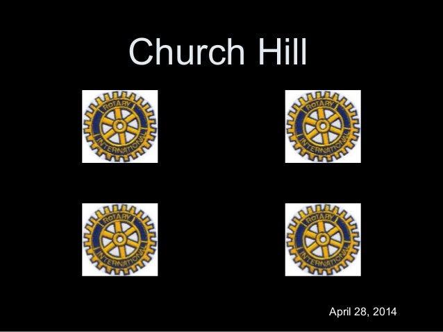 Church Hill April 28, 2014