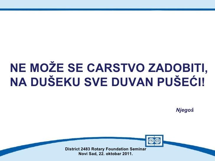 Novi Sad Duvan Seminar Novi Sad