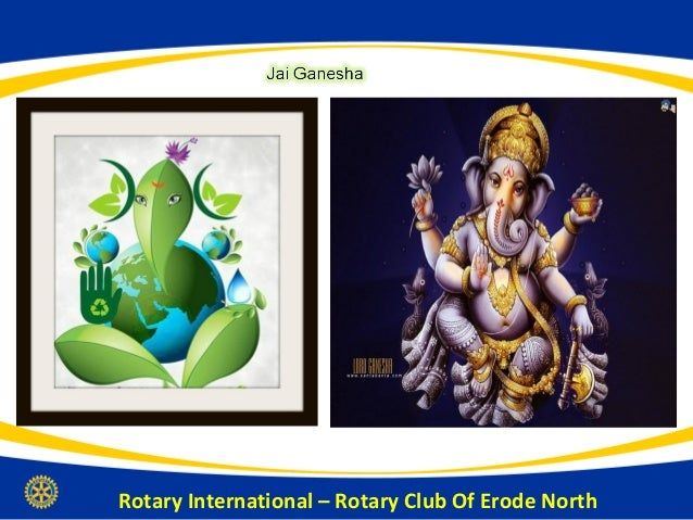History of Rotary International, RI Dist 3202 & Rotary Club Of Erode North