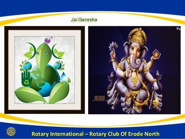 History of Rotary International, RI Dist 3202 & Rotary Club Of Erode North