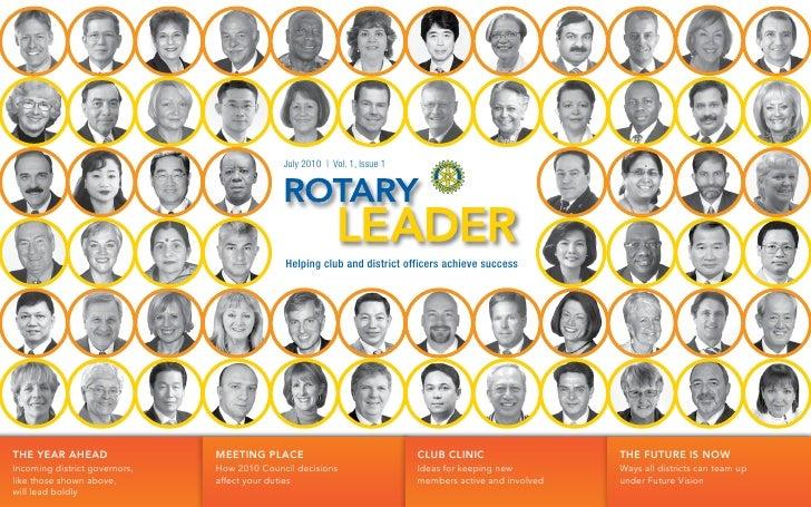 Rotary Leader