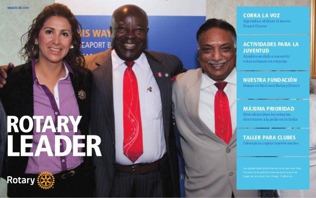 Rotary Leader Marzo 2014