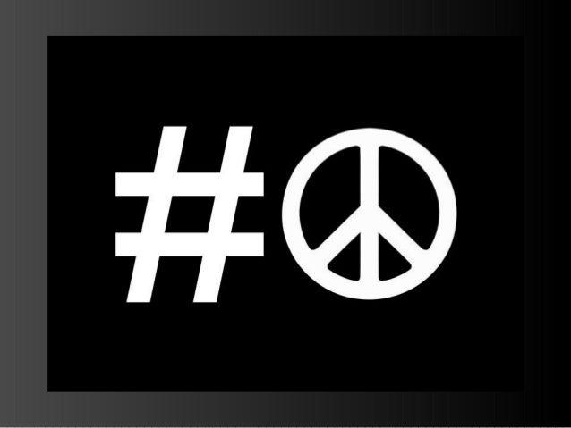 Hashtags for Peace