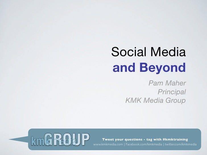 Rotary Presentation on Social Media