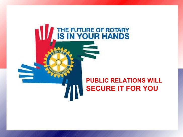 Rotary Public Relations District 9640 June 2009[1]