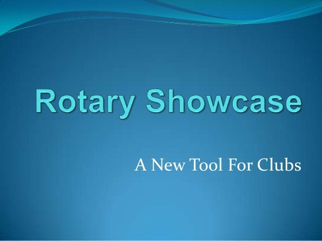 A New Tool For Clubs