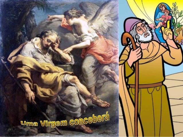 Maria e José Em nossa preparação para o Natal, a Liturgia desse 4º Domingo do Advento nos apresenta duas figuras important...