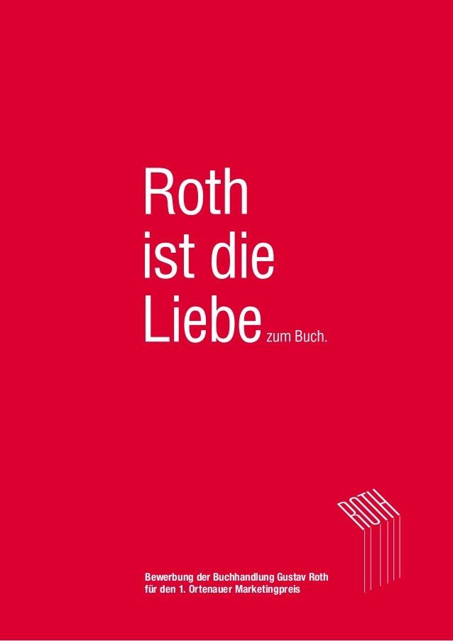 Bewerbung der Buchhandlung Gustav Roth für den 1. Ortenauer Marketingpreis