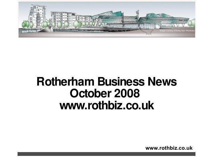 Rothbiz Rotherham Business News October 2008