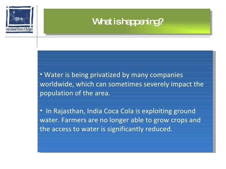 the demerits of privatization of water services essay Given below are some of the advantages and disadvantages of privatization harmful to the country because it leads to delay in providing services to local people.