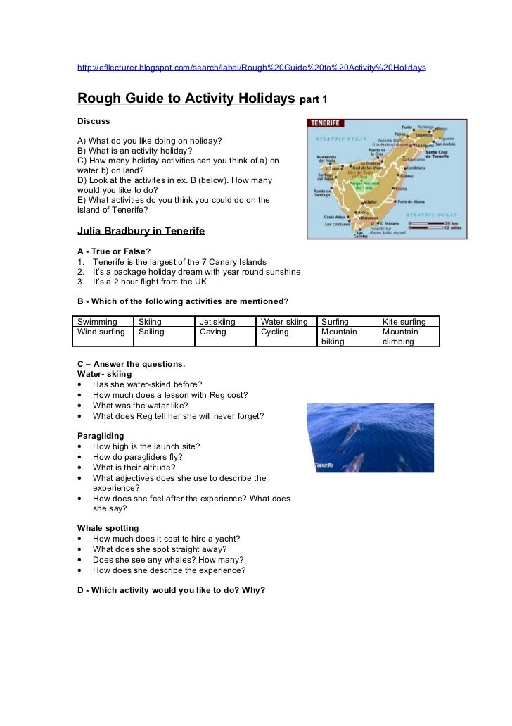 http://efllecturer.blogspot.com/search/label/Rough%20Guide%20to%20Activity%20HolidaysRough Guide to Activity Holidays     ...