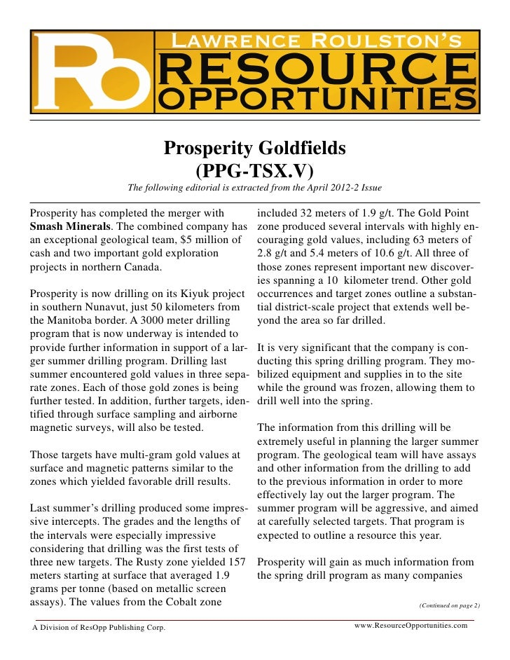 Roulston   prosperity goldfields reprint april 2012-2