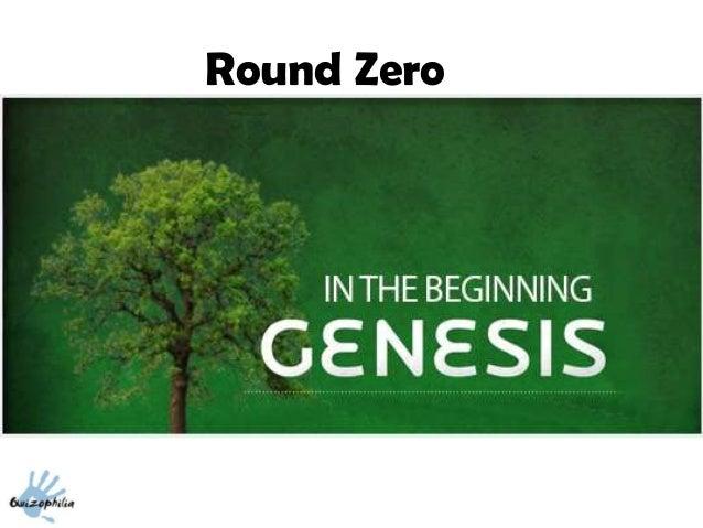 Round Zero