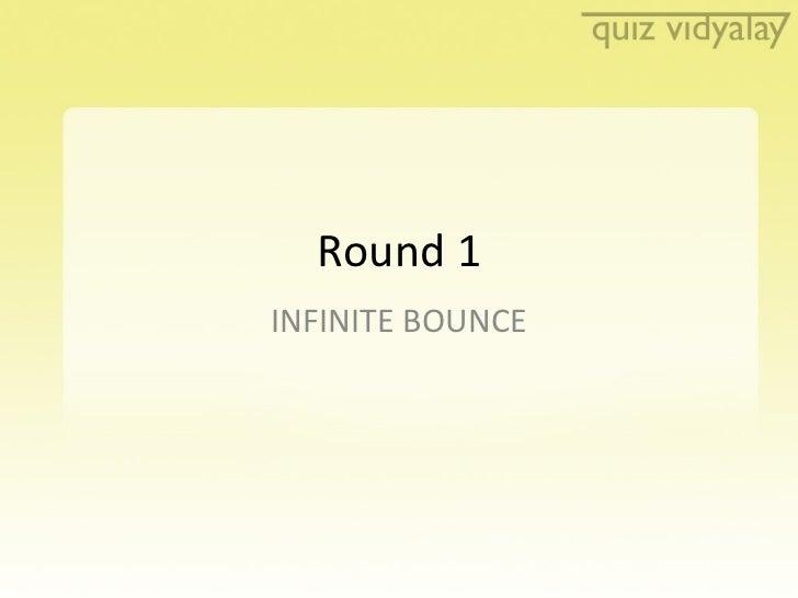 Quiz Vidyalay Quiz 2- Finals Round 1