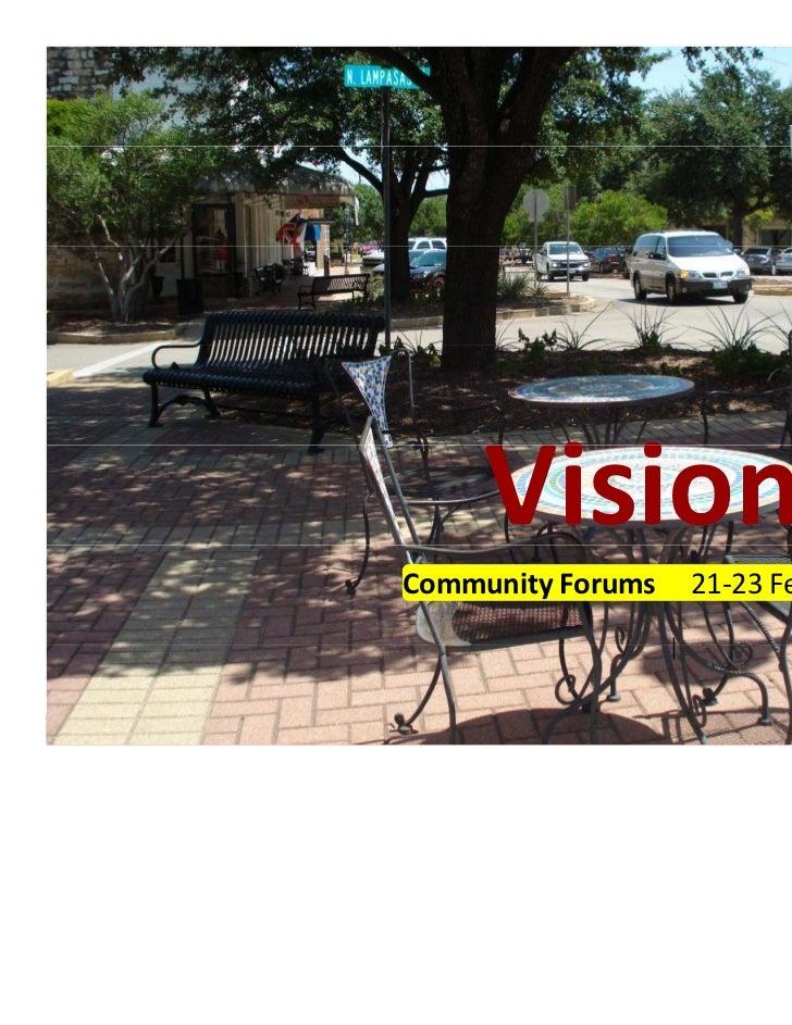 Round Rock Visioning Presentation