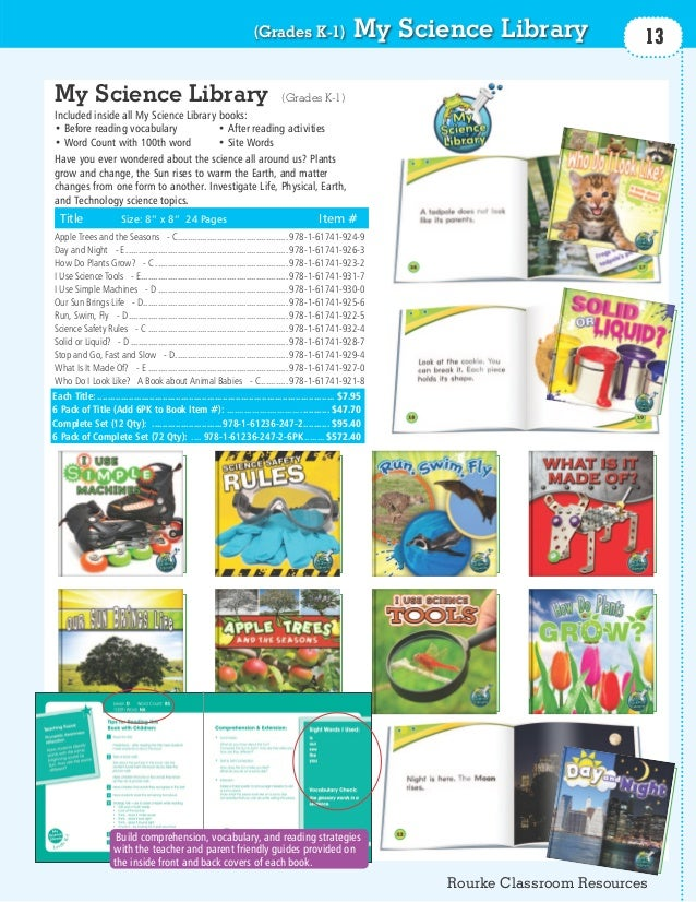 (Grades K-1)                       My Science Library              13My Science Library                                   ...